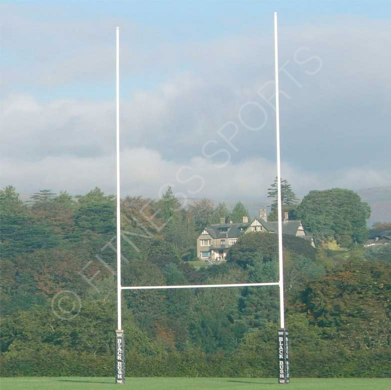 11m & 13m Hinged Rugby Goalposts