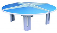 Butterfly 4 player outdoor tennis table.
