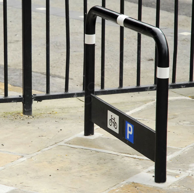 Public Steel Mounted Cycle Stands