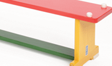 Multi Colour Bench