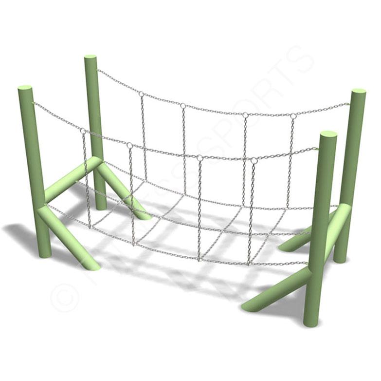 Steel Boundary Post Pour Chaîne