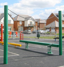 Timber Play Activity Areas