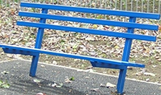 Anti Vandal Steel Bench
