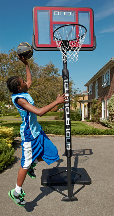 AND1 Slam Jam portable basketball net
