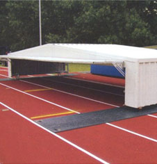Mobile High Jump Landing Area Cover Fitness Sports