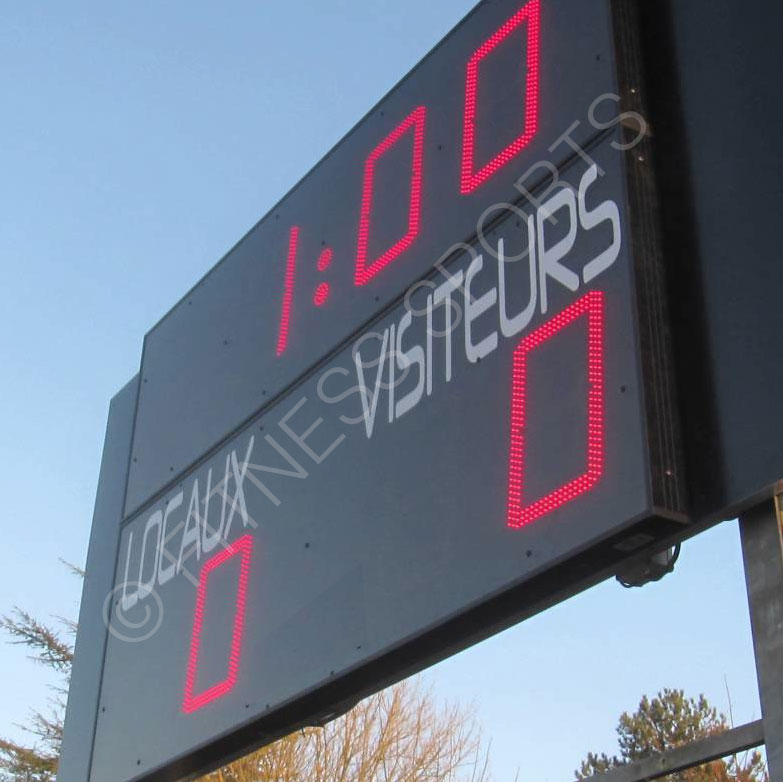 Digital LED scoreboards