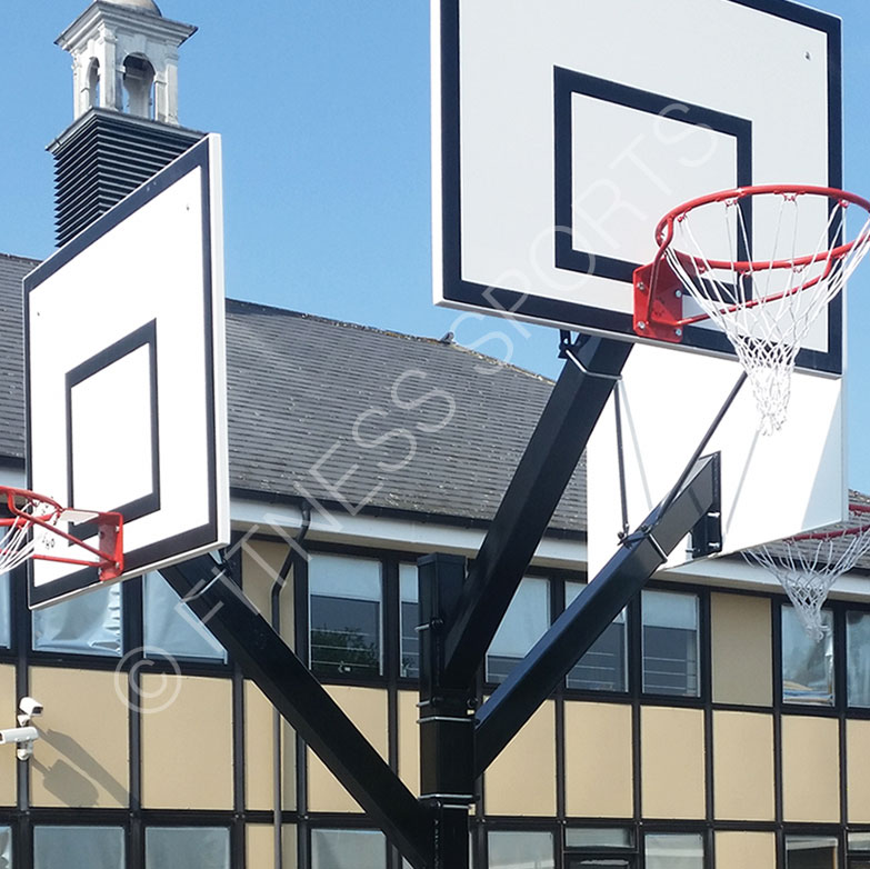 Outdoor Basketball Area Design & Installation