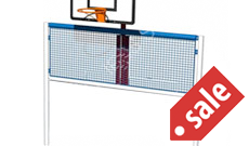Basketball Football Multi use games area goal