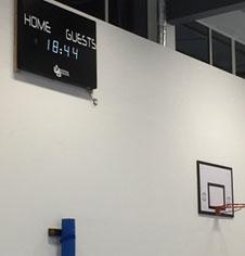 Electronic Scoreboard Servicing