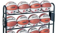 Basketball Storage Rack