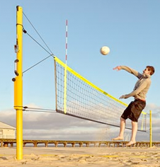 Outdoor Beach Volleyball Posts