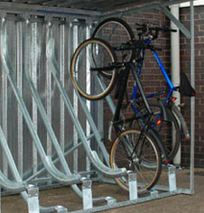 Public Cycle Storage Racks & Secure Bike Stations