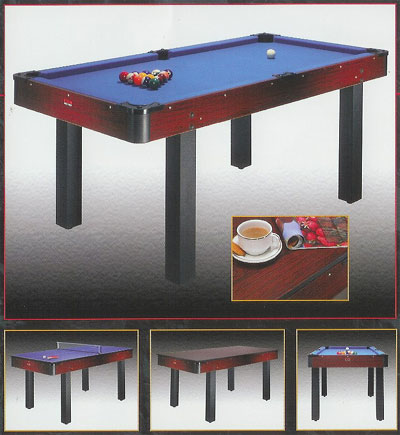BCE Pool table tennis and table combination table