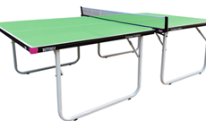 Butterfly Compact 10 senior outdoor folding tennis table.