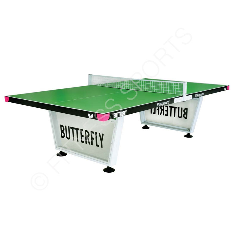 Butterfly Playground Steel Outdoor Anti Vandal Table Tennis Table ...