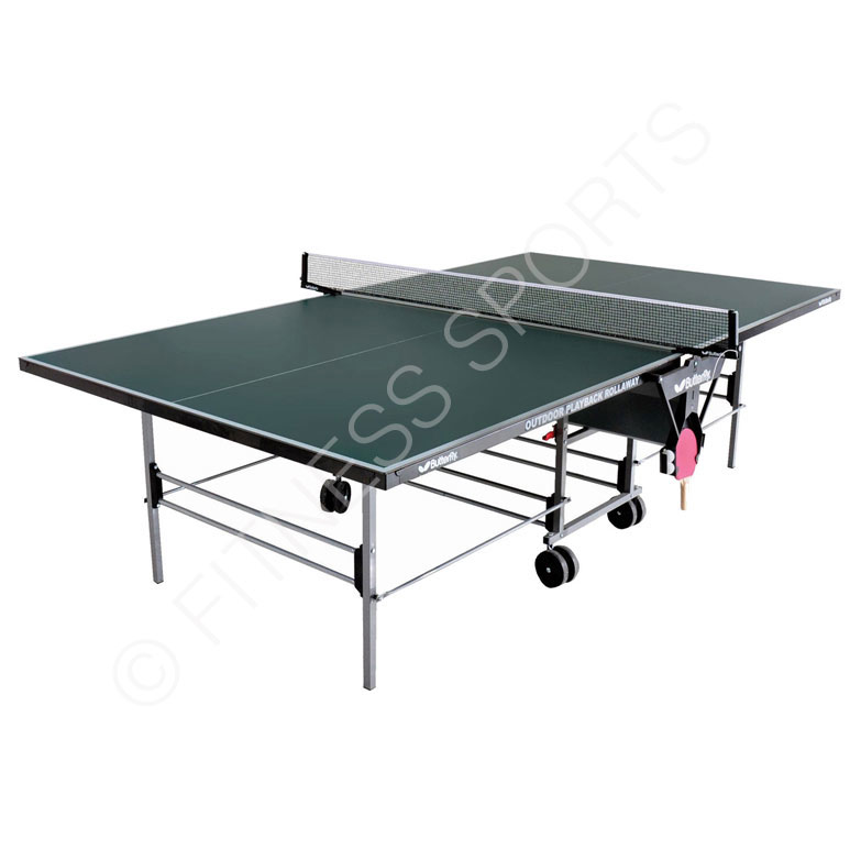 Butterfly Outdoor 4 Player Anti Vandal Table Tennis Table ...
