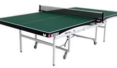 Butterfly Space Saver Deluxe indoor table tennis table.