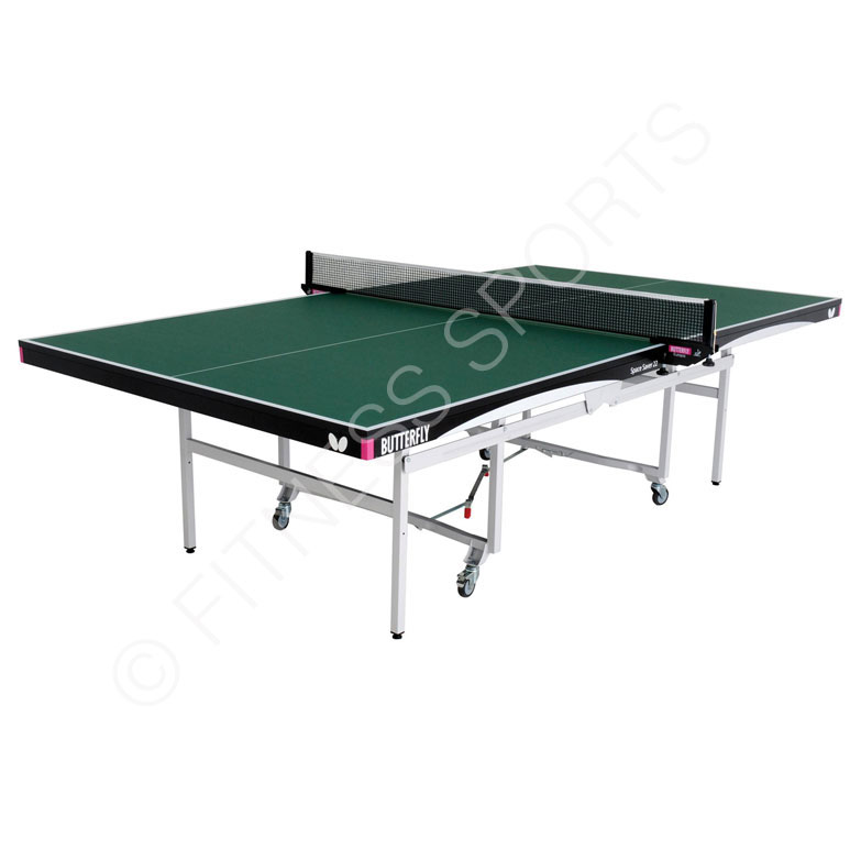 Butterfly space saver 22 deluxe indoor ittf specification for Html table spacing