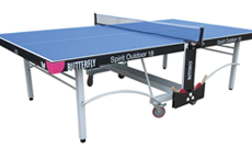 Butterfly Spirit 18 outdoor folding table tennis table.