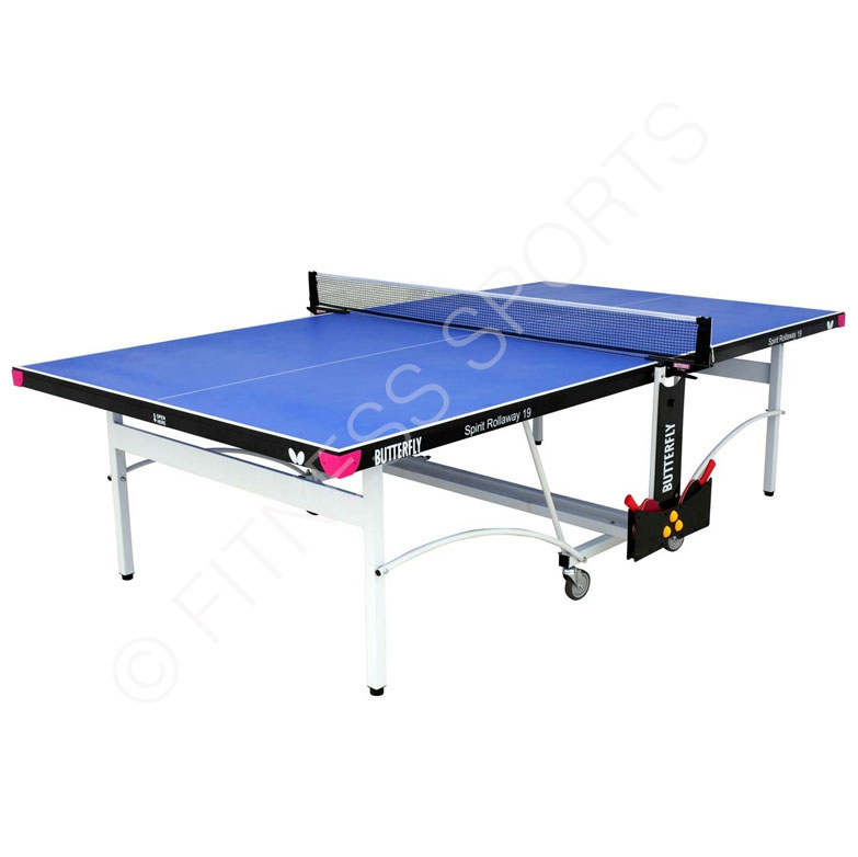 Butterfly spirit 19 rollaway indoor folding table tennis - Butterfly table tennis official website ...