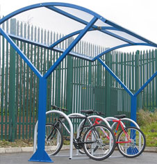 Canopy Bicycle Rack Storage Shelter