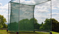 Back stop cricket net