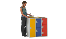 900mm Cloakroom Lockers