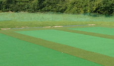 IBC Bonded Heavy Duty Non Turf Artificial Reinforced Base Cricket Pitch