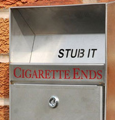 Smoking Area Litter Bins