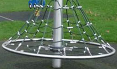 Cone Steel Climbing Frame