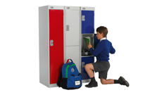 Steel Cloakroom Lockers