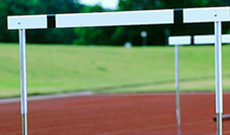 Fixed Leg Track Hurdles