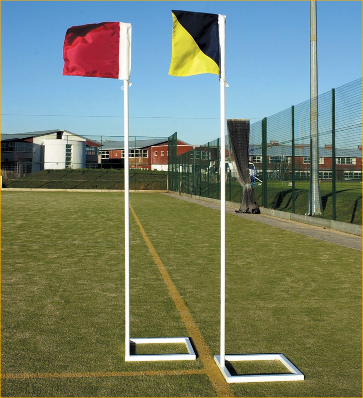 Freestanding Corner Flagposts