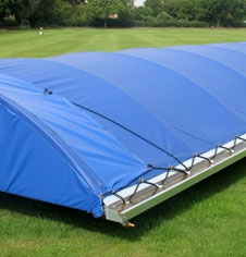 Mobile Cricket Wicket Covers & Pitch Rain Cover Sheets