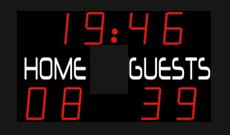 Gymnasium LED Scoreboards