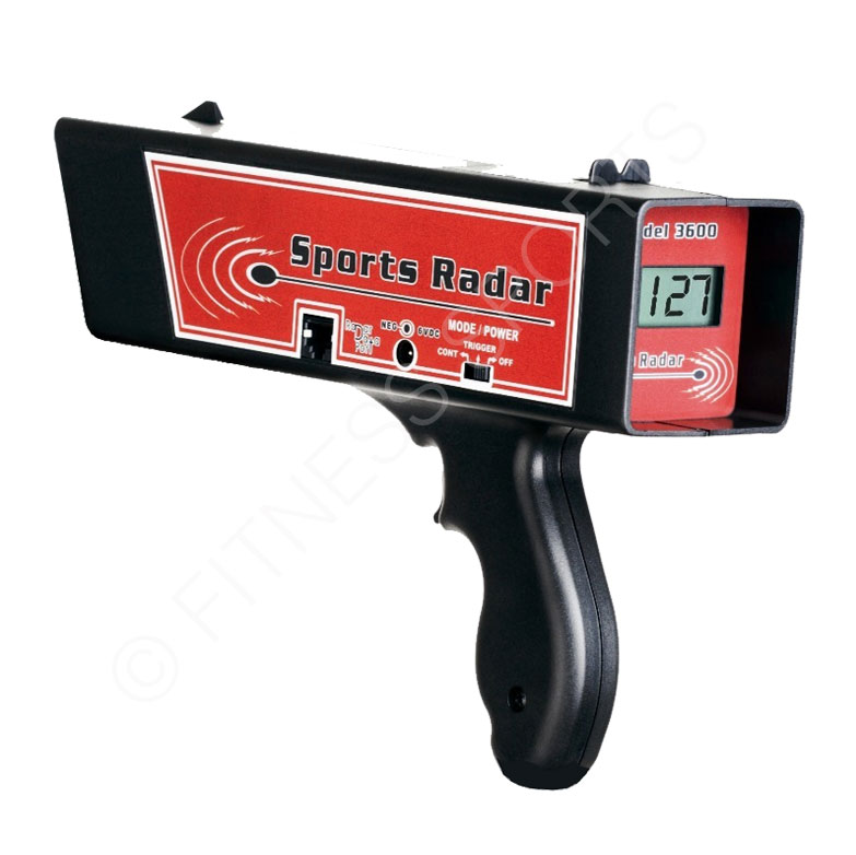 Doppler Hand Held Ball Speed Radar Gun Fitness Sports