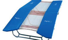 Gymnastic Double Mini Trampoline