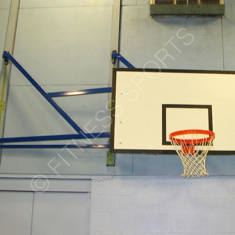 Indoor Extending Wall Mounted Basketball Goals Fitness
