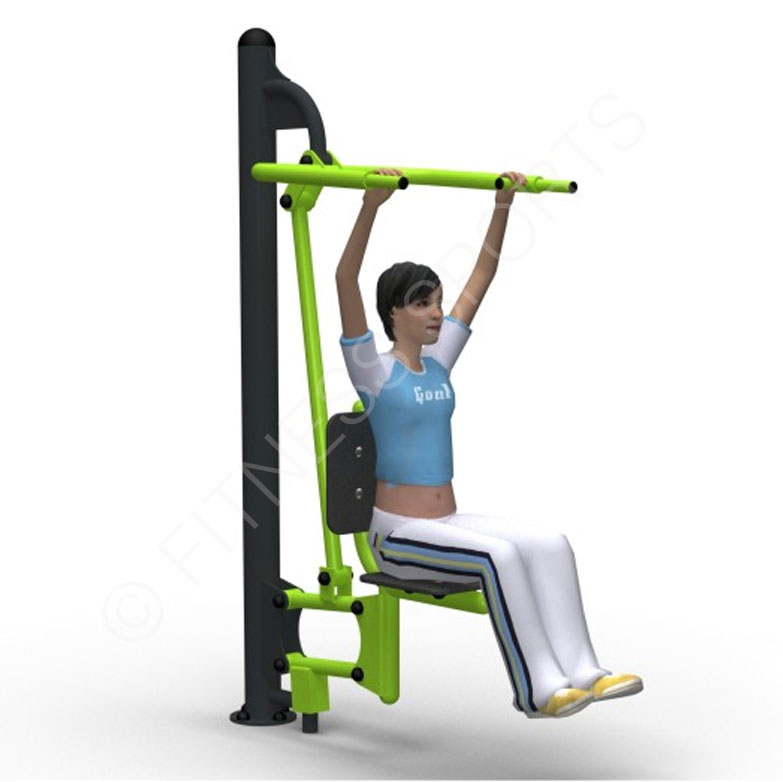 Outdoor Trail Exercise Pull Up Seat