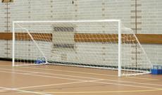 Five A Side Alloy Football Goalposts