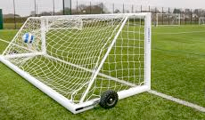 2.44m x 1.22m 50mm alloy weighted 5 a side goals.