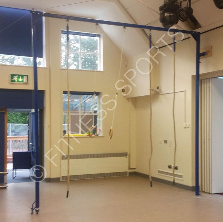 Primary School Pe Rope Climbing Frame Equipment Design