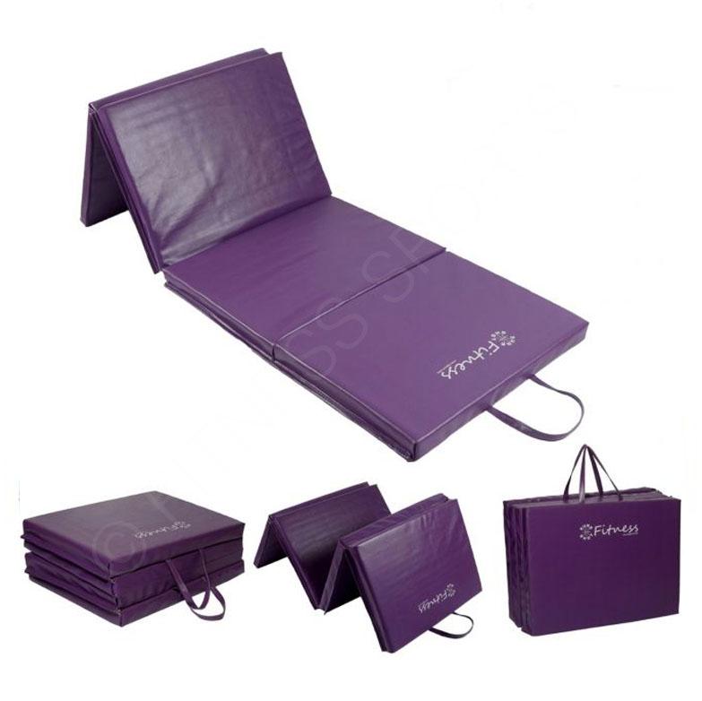 Foldable Gym Mats Uk: Folding Yoga Exercise Mats