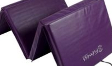 Folding Yoga exercise PE mats.