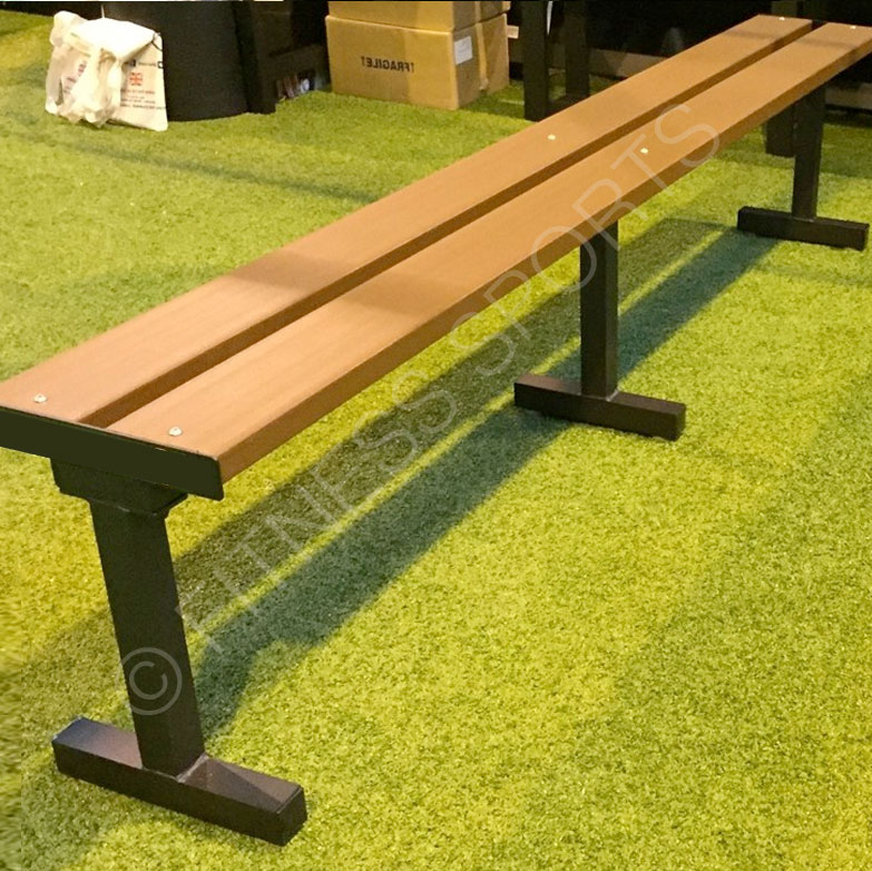 Outdoor Freestanding Sideline Bench Seat Fitness Sports