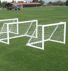 Coaching & Sports Pitch Aluminium Training Goalposts