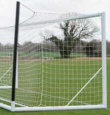 Freestanding 3G Aluminium Portable Senior Football Goalposts