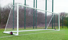 7.32m x 2.44m Freestanding Goalposts