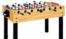 Garlando G100 Maple indoor free play table football table.