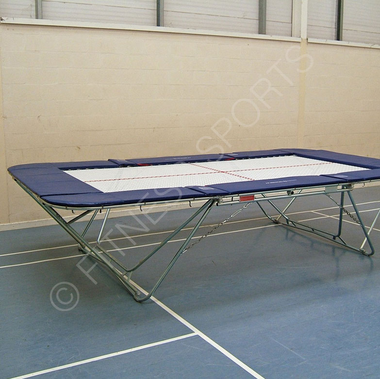 Professional Gymnastic Double Mini Trampoline
